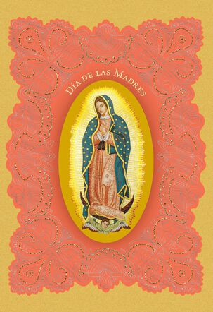 Our Lady Religious Spanish-Language Mother's Day Card