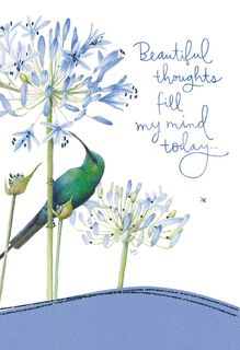 Beautiful Thoughts For You Marjolein Bastin Just Because Card,