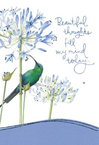 Beautiful thoughts for you marjolein bastin just because card m4hsunfo
