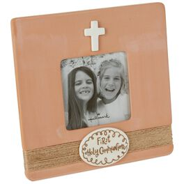 First Communion Picture Frame, 3x3, , large