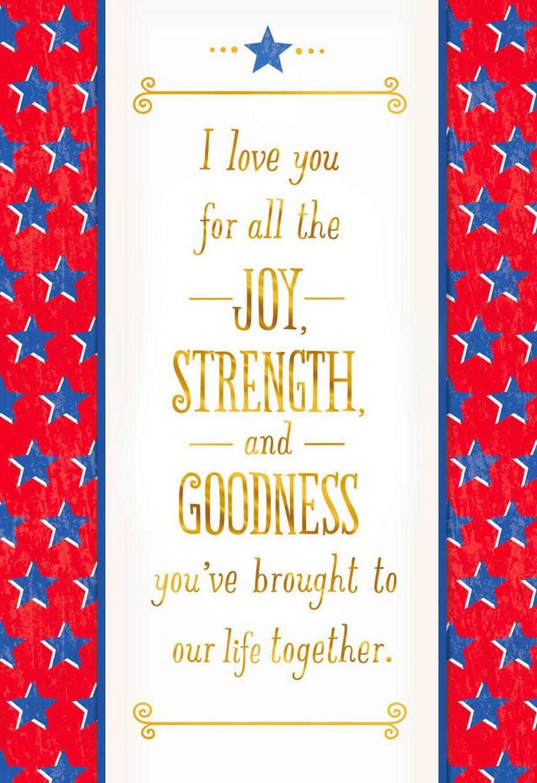 I Love You Veterans Day Card Greeting Cards Hallmark