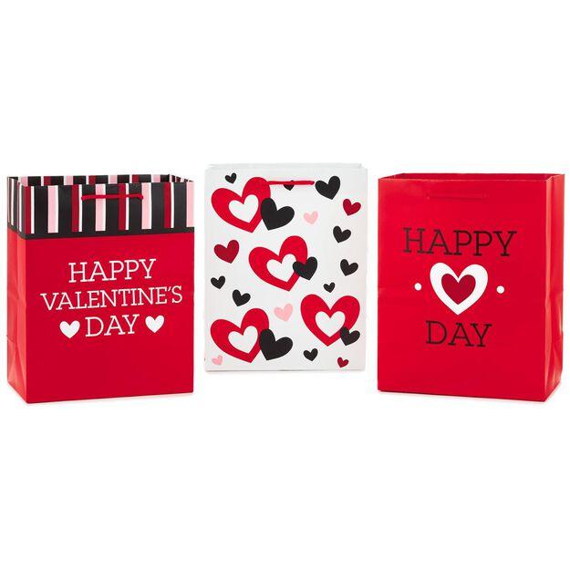 valentines day medium gift bags