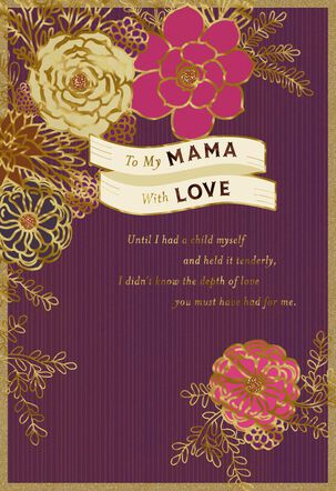 Sweetest Mama Love Mother's Day Card