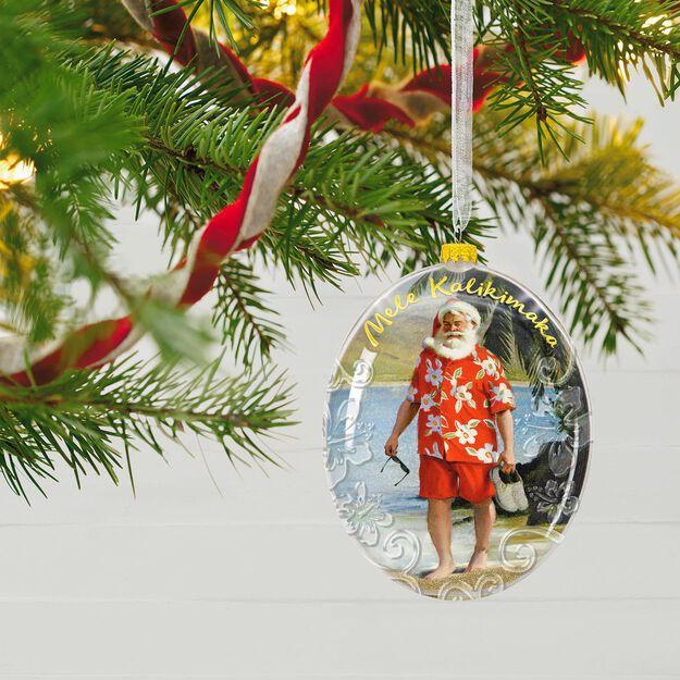 Beach Christmas Tree Ornaments
