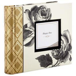 Black and White Roses  Photo Album, , large