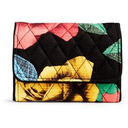 Vera Bradley Riley Compact Wallet in Havana Rose, , large