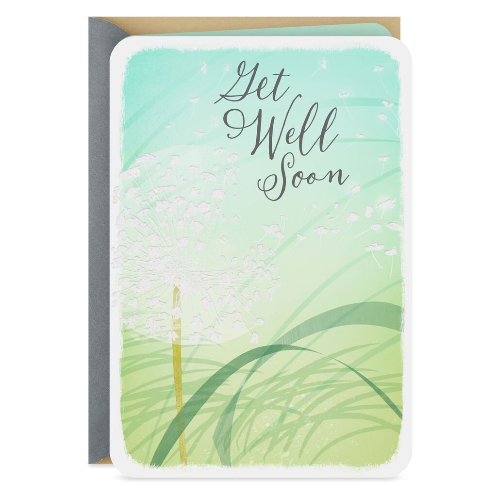 96fe5e275aa Wishing You Blue Skies Get Well Card - Greeting Cards - Hallmark