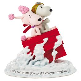 Snoopy Flying Ace and Fifi Figurine, , large
