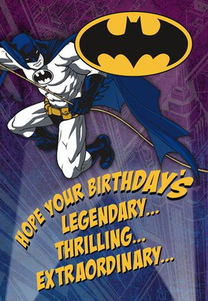 Batman™ Legendary Birthday Card