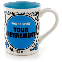 """Our Name is Mud """"Retirement"""" Spinner Mug, 16 oz., , large"""