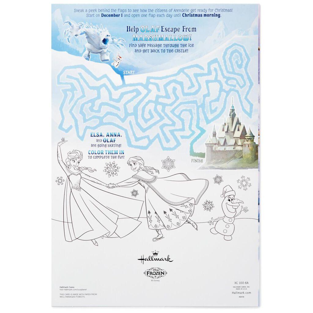 Disney Frozen Advent Calendar - Decorative Accessories - Hallmark