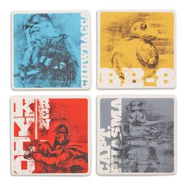 Star Wars™: The Force Awakens™ Characters Coaster Set of 4, , large