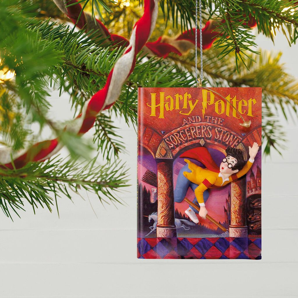 harry potter and the sorcerers stone 20th anniversary ornament