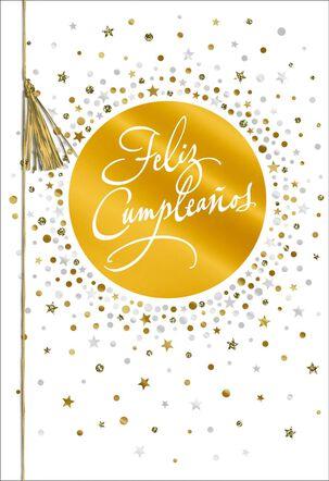 Beautiful and Brilliant Day Spanish-Language Birthday Card
