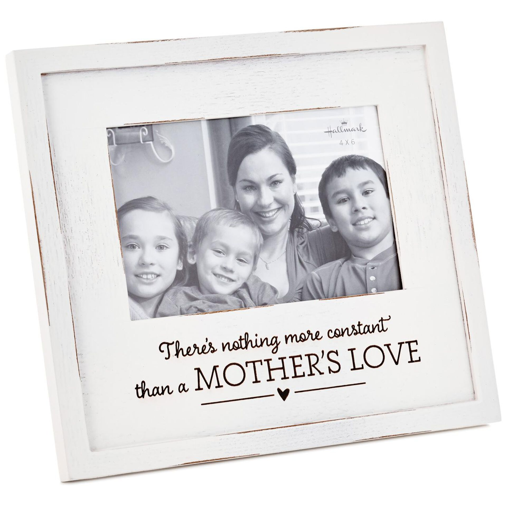 Mother/'s Day family photo a little bit of loud Wood photo frame home decor 4 x 6 photo a little bit of crazy anniversary gift