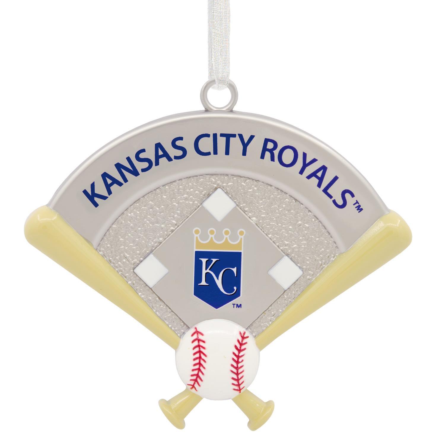 MLB Kansas City Royals™ Metal Hallmark Ornament - Gift Ornaments ...
