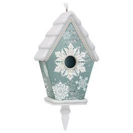 Beautiful Birdhouse Ornament, , large