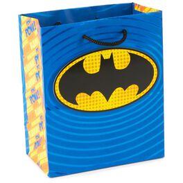 "BATMAN™ Logo Pop Art Small Gift Bag, 6.5"", , large"