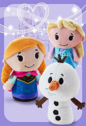 Frozen itty bittys® Greetings Valentine's Day Card