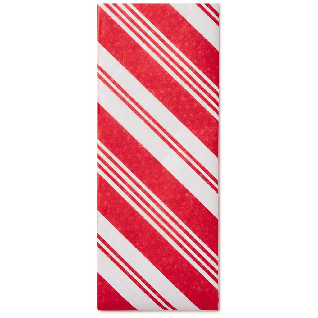 candy cane striped tissue paper 6 sheets tissue hallmark