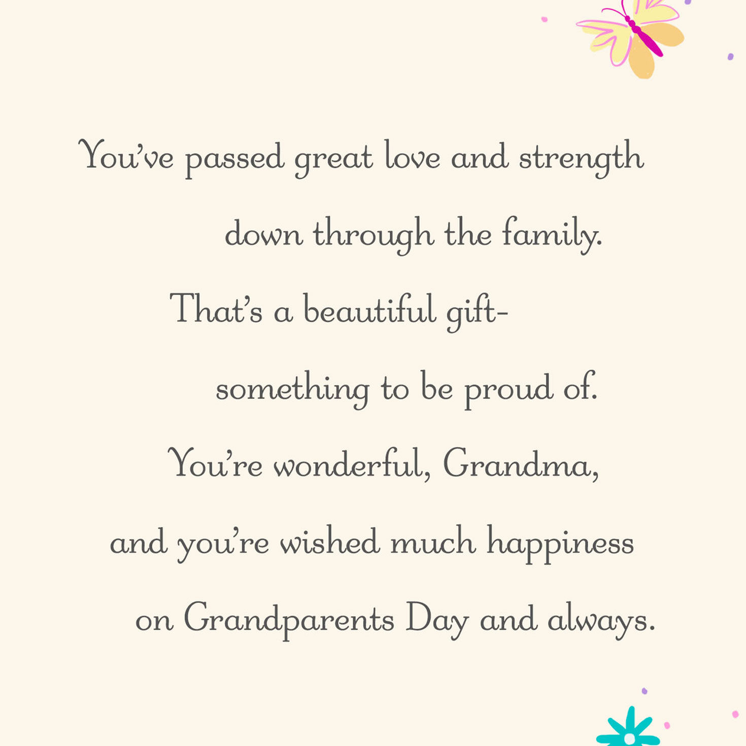 photo about Grandparents Day Cards Printable referred to as Grandparents Working day Playing cards Hallmark