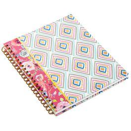 Haute Girls™ Geometric Spiral Notebook, , large