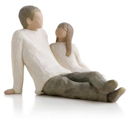 Willow Tree® Father and Daughter Figurine, , large