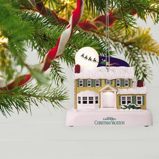 NATIONAL LAMPOON'S CHRISTMAS VACATION™ A Star-Spangled Spectacle Sound Ornament With Light,