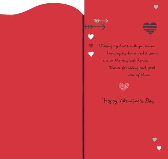 hearts and arrows valentine's day card - greeting cards - hallmark, Ideas