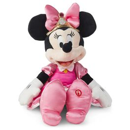 Minnie Mouse Minnie-rella Interactive Stuffed Animal, , large