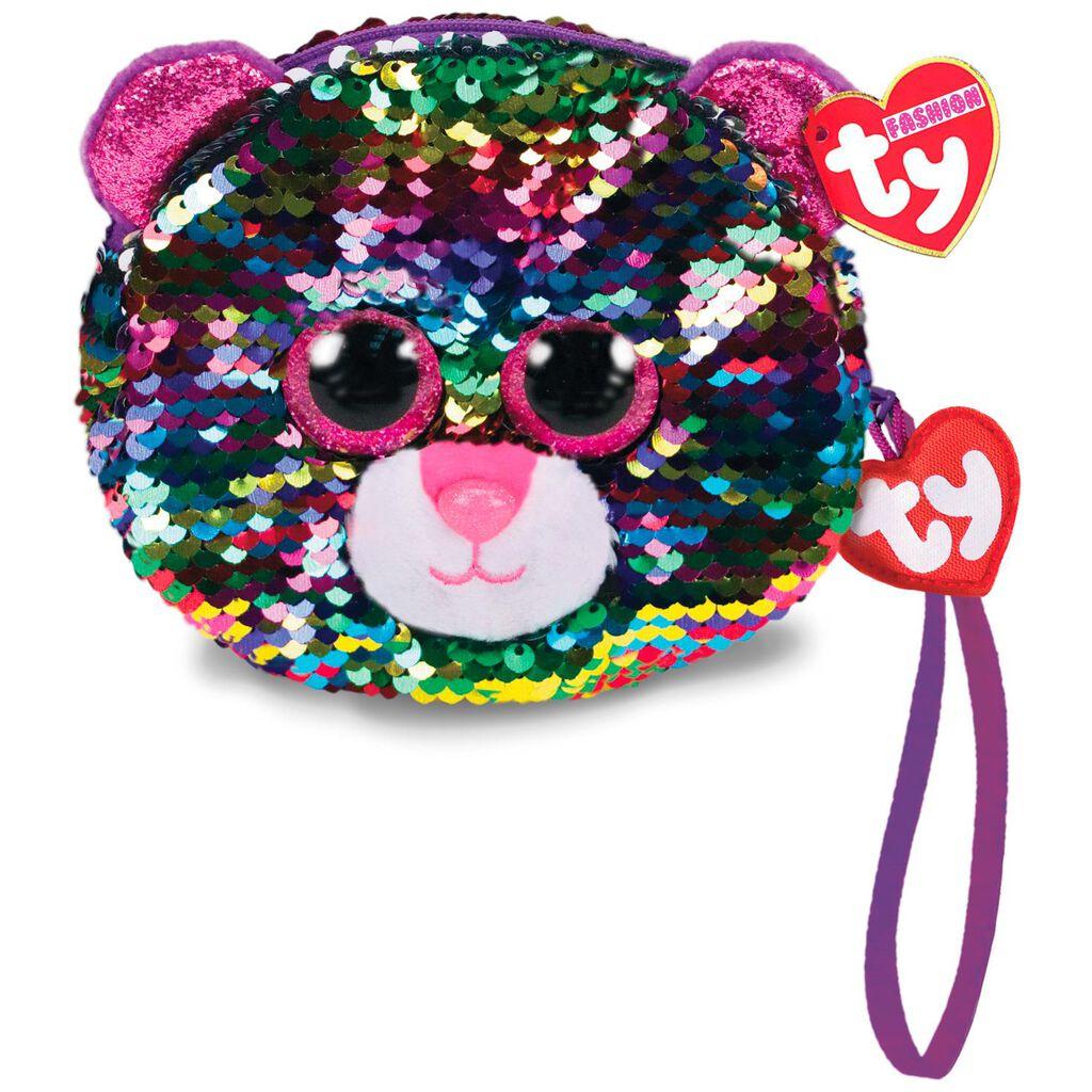 9e751833052 Ty Fashion Dotty Leopard Sequin Wristlet - Plush Toys - Hallmark