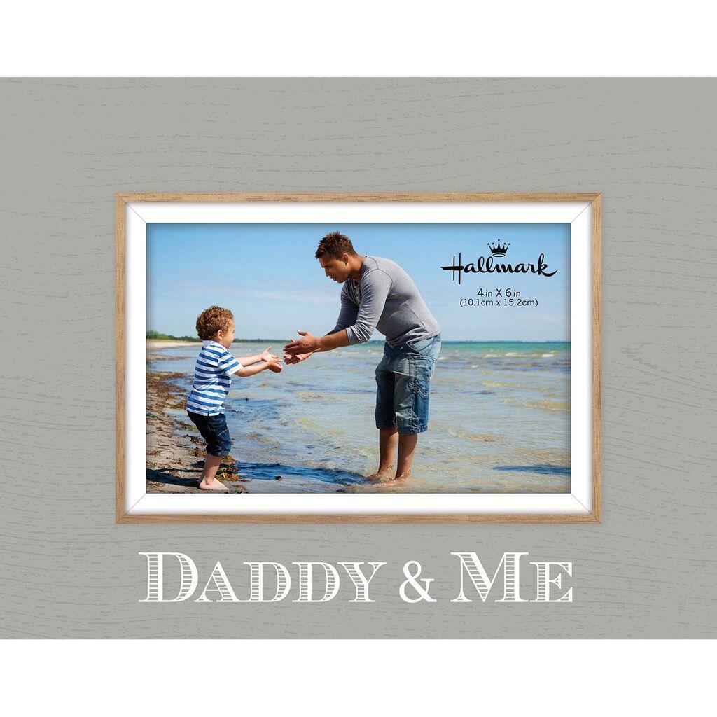 Daddy & Me Malden Picture Frame, 4x6 - Picture Frames - Hallmark