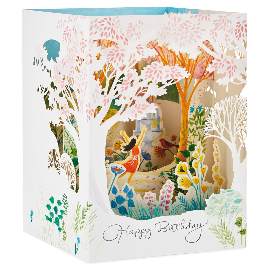 Do What You Love Pop Up Shadow Box Birthday Card