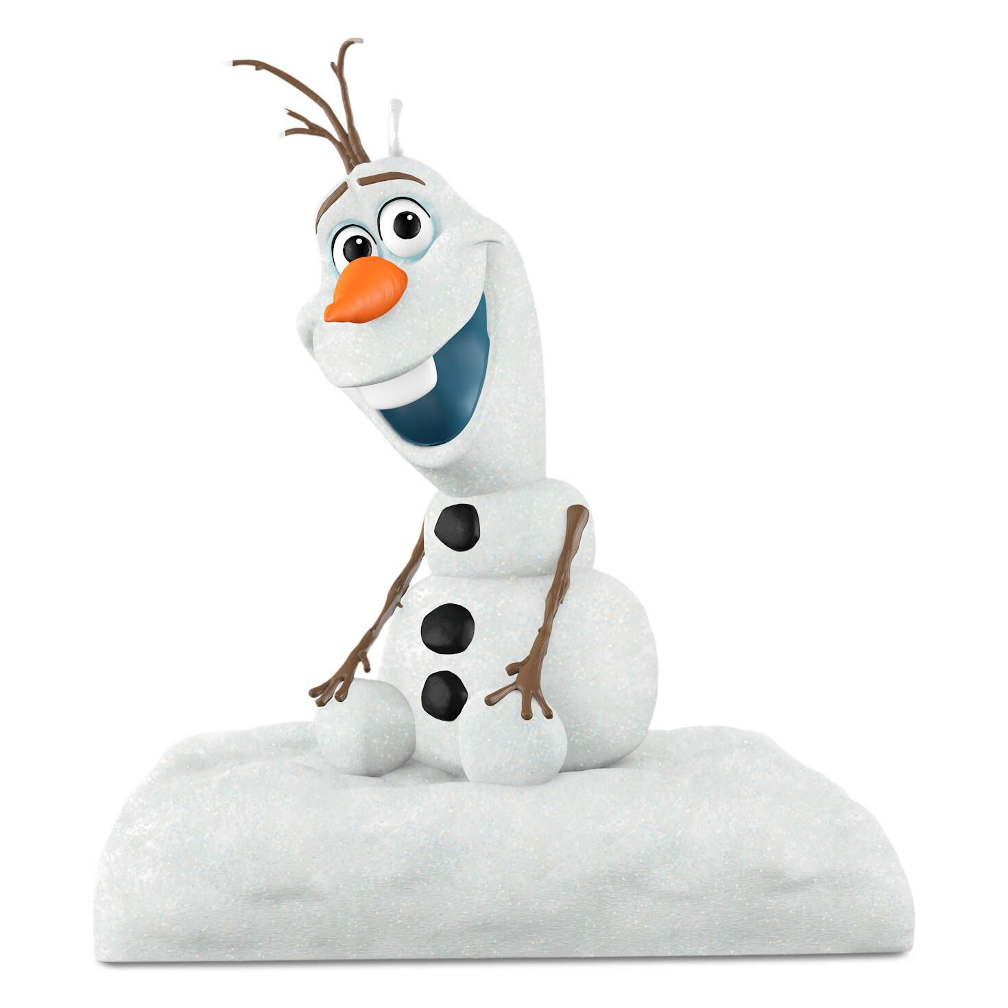 Disney Frozen Olaf Motion-Activated Ornament With Sound - Keepsake ...