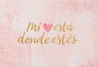 Te Amo Spanish Language Love Card,