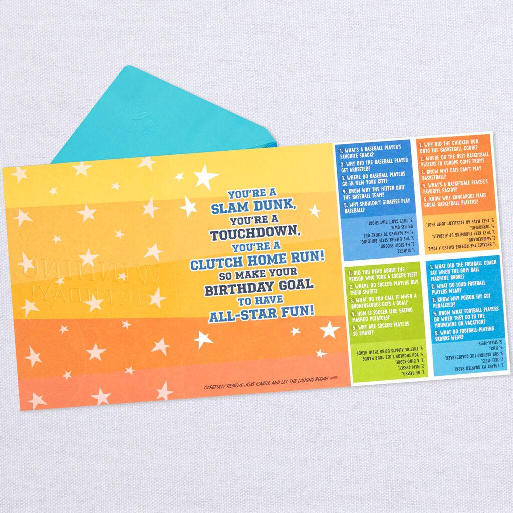 Card Youre A Slam Dunk Birthday