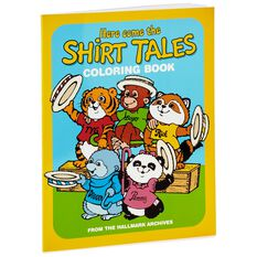 Here Come The Shirt Tales Coloring Book Coloring Books