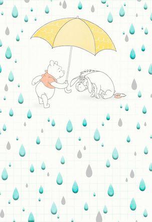 Winnie the Pooh Rainy Day Encouragement Card