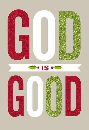 God Is Good Christmas Card
