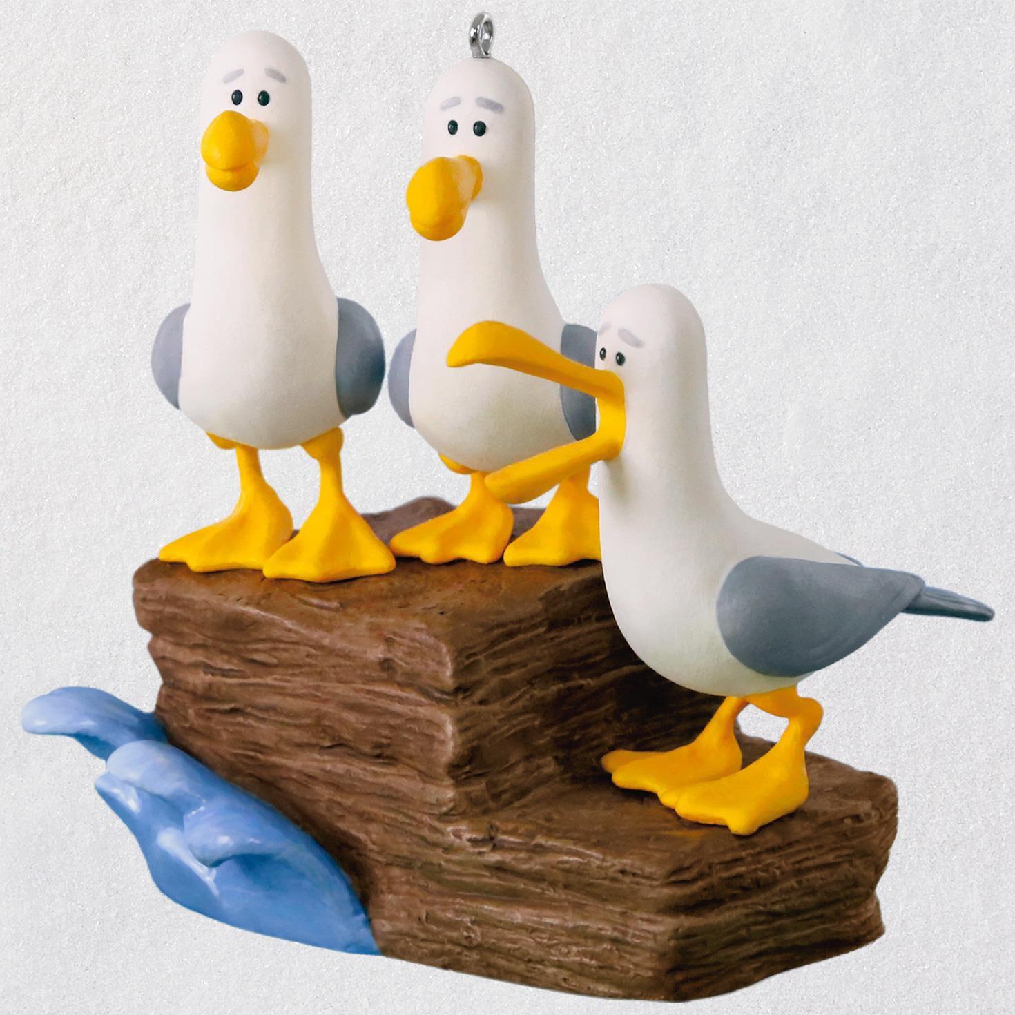 disney pixar finding nemo mine mine mine seagulls ornament with