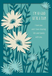 Dayspring christian and religious greeting cards hallmark were a team fathers day card m4hsunfo Choice Image