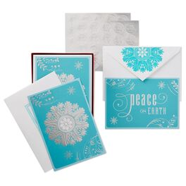 Wonder and Joy Assorted Christmas Cards, Box of 40, , large