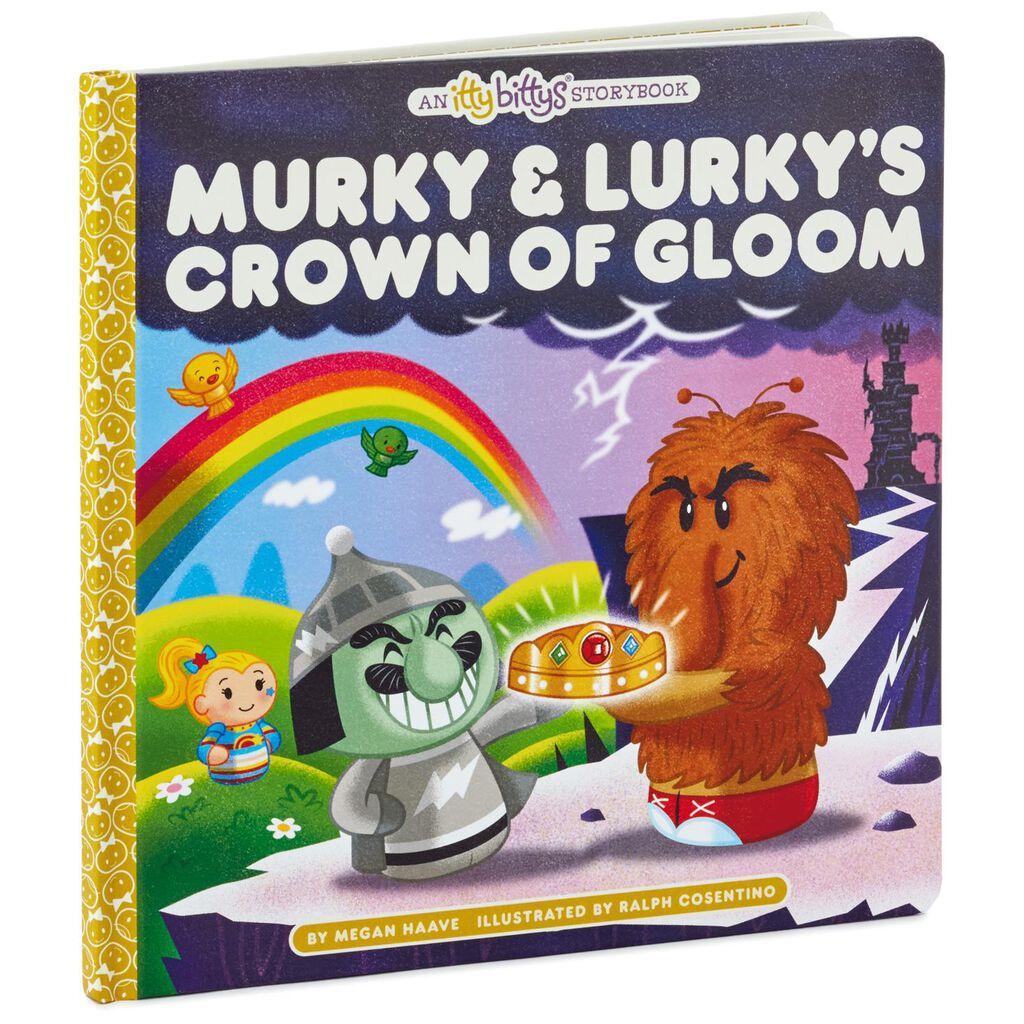 Itty Bittys Murky Lurky S Crown Of Gloom Stuffed Animal And