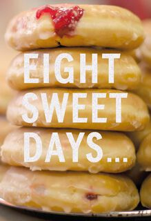 Eight Sweet Days Funny Hanukkah Card,