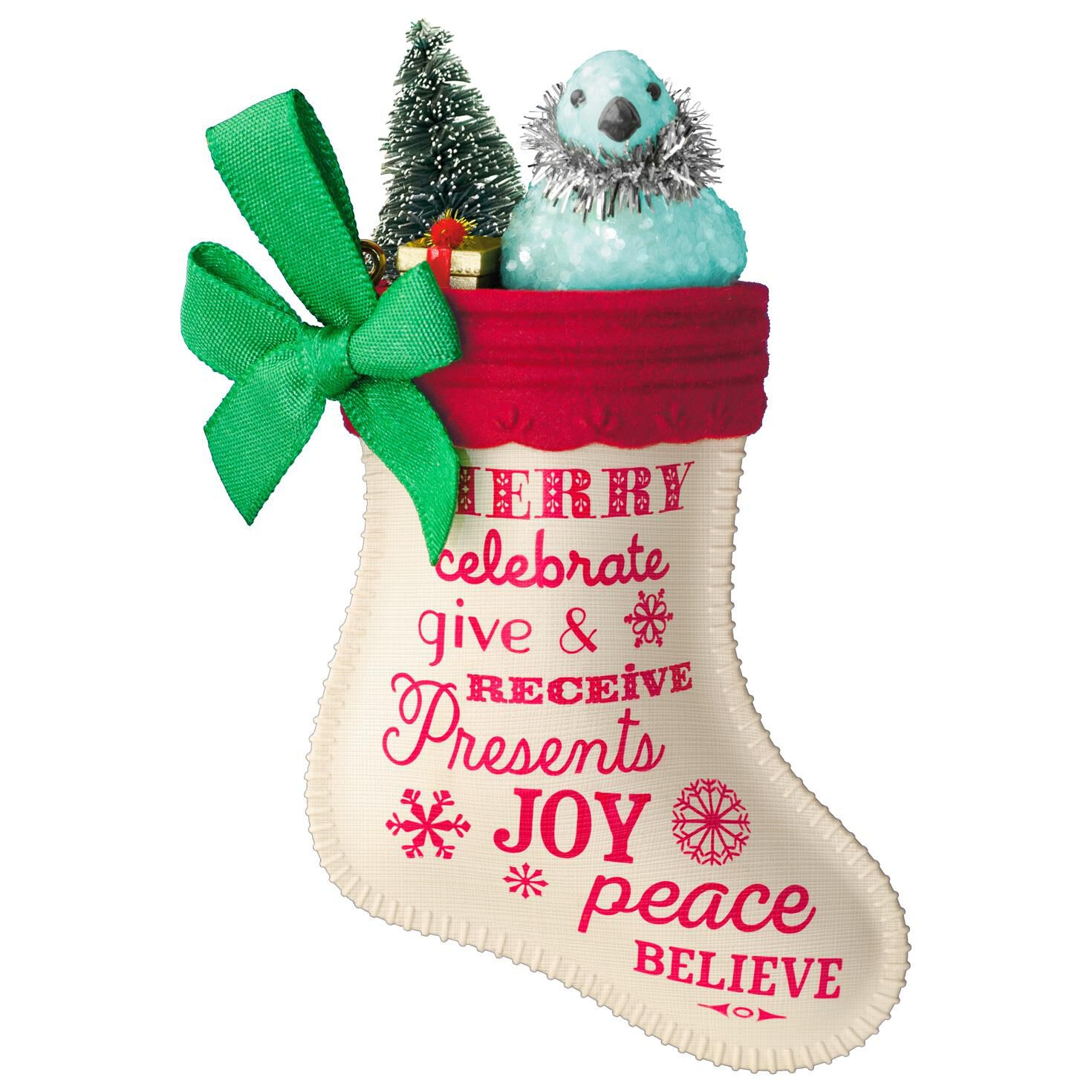 Rutgers ornament - Christmas Stocking Ornaments The Joy Of Giving Christmas Stocking Ornament Keepsake Ornaments Hallmark