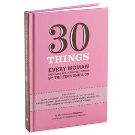 30 Things Every Woman Should Have & Should Know By the Time She's 30 Gift Book, , large