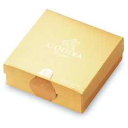 Godiva Chocolatier Assorted Chocolates in Gold Gift Box, 4 Pieces, , large