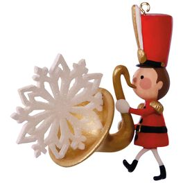 Soulful Saxophone Musical Soldier Ornament, , large