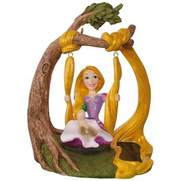 Disney Tangled Rapunzel In the Swing Solar Motion Ornament, , large