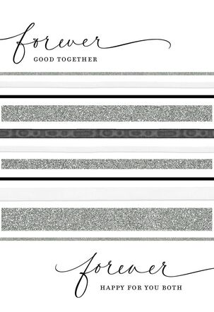 Forever Good Together Wedding Card